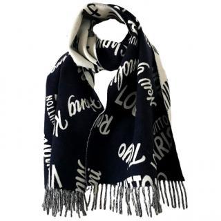 louis Vuitton 'city' scarf