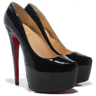Christian Louboutin, Daffodile 160 Pumps, Black patent, EU38.5/ UK 5.5