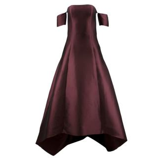 Sachin & Babi Bardot Style Gown
