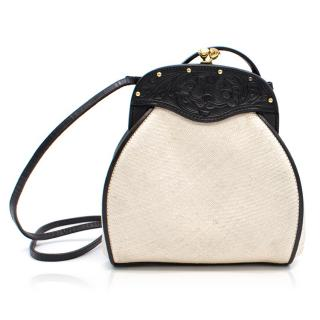Ralph Lauren Cream and Black Bag