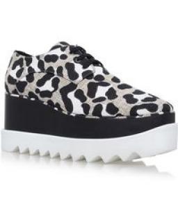 Stella McCartney Kariega Elyse woven flatform derby shoes