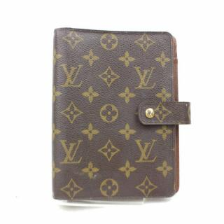 Louis Vuitton  MM Brown Monogram Agenda Cover