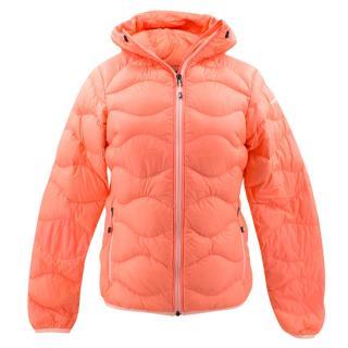 PeakPerformance neon orange ski jacket