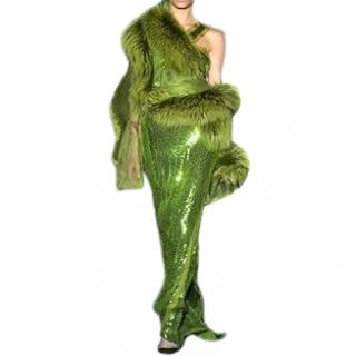 Gucci Tom Ford Sequin Gown Dress