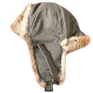 Yves Salomon trapper hat