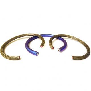 Ileana Makri Pipe Cuff Stack Bracelets Rrp �340.00