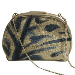 Burberry Prorsum Hand Painted Shoulder Bag