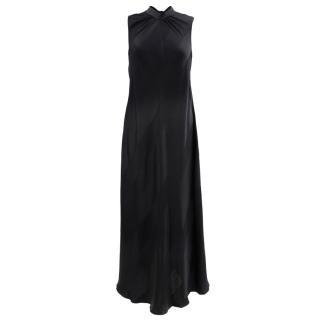 Sachin & Babi black silk gown