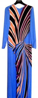 Emilio Pucci Blue Maxi Dress