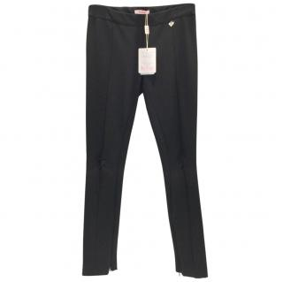 Blumarine Trouser Leggings with Chain Seam