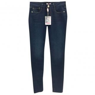 Blumarine slim fit blue jeans