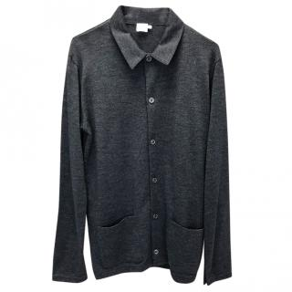 Sunspot Grey Wool Shirt