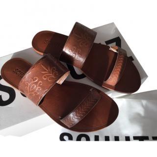 Schultz leather sandals