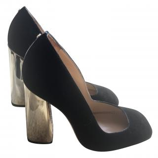 DSQUARED2 Gold Heeled Shoes