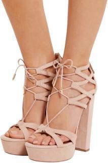 Aquazzura Heels Beverly Hills Platform Sandals