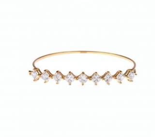 Shourouk Leitmotiv Yildiz Gold Plated Bracelet