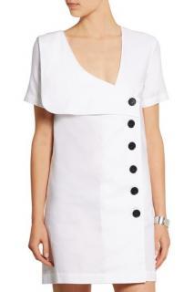 JW ANDERSON Sailor cotton Oxford mini dress