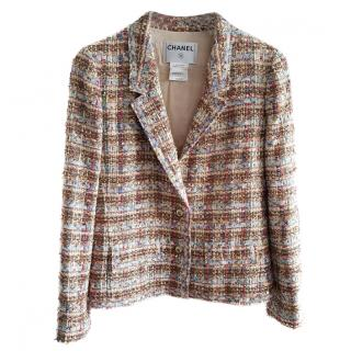 Chanel multi colour tweed Jacket