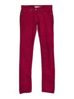 Isabel Marant Etoile Iti skinny corduroy trousers