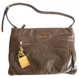 MIU MIU Contenitori Vitello Lux Bag