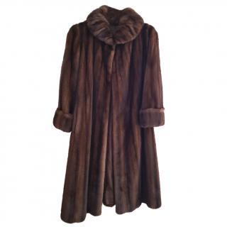 Ivonne Ranch Saga Mink coat