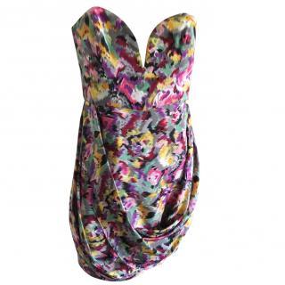 Zimmermann silk  strapless dress