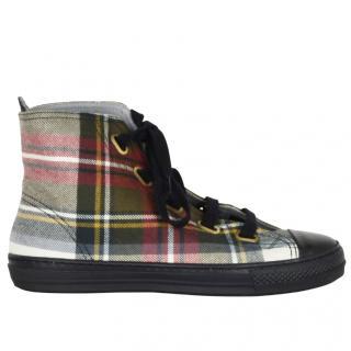 Vivienne Westwood Anglomania high top basket sneakers