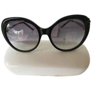Nina Ricci Black Sunglasses