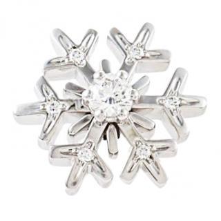 Chopard Snowflake Diamond Necklace