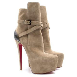 Christian Louboutin Daffodil Suede Boots