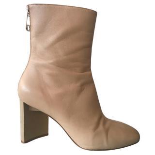MAISON MARGIELA Beige Ankle Boots
