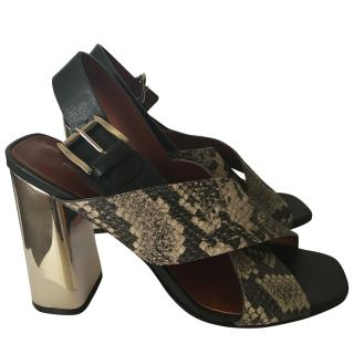 Rebecca Minkoff  block heeled sandals