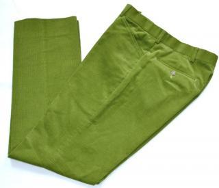 Ralph Lauren Purple Label Green Cord Trousers