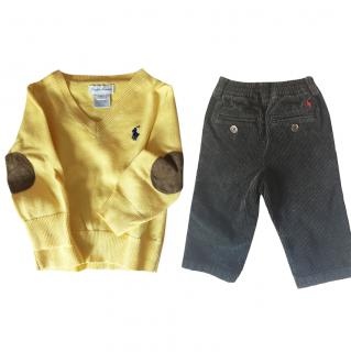 Ralph Lauren Baby Top and Pants