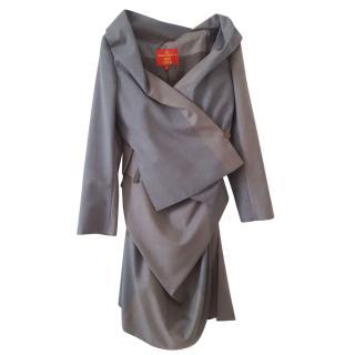 Vivienne Westwood red label tweed suit