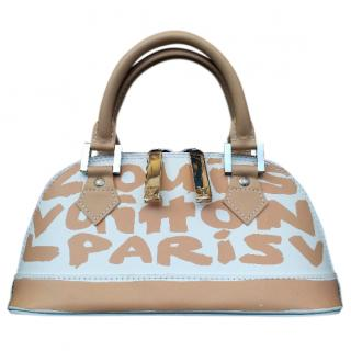 LV Ltd Edition Stephen Sprouse Graffiti Alma Beige