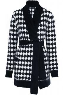 Balmain black & white cardigan