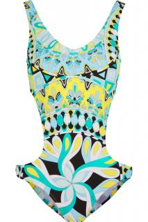Emilio Pucci cutout swimsuit