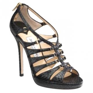 Jimmy Choo Drake Water Snake Sandals