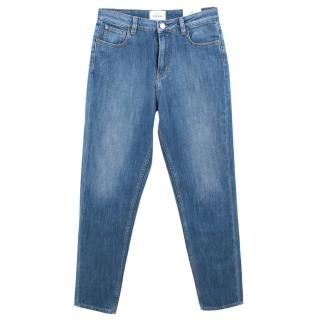 Sezane Light Washed Denim Jeans