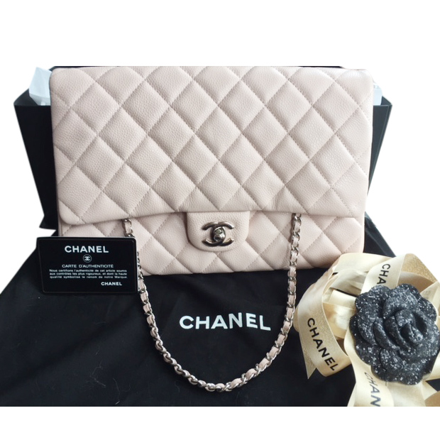 be94cdb28516 Chanel Light Pink Quilted Lambskin Flap Shoulder Clutch Bag | HEWI London