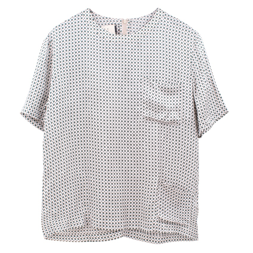 Marni spotted print top