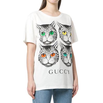 c4e28cd09ba6 Gucci Logo Mystic Cat Tshirt138830