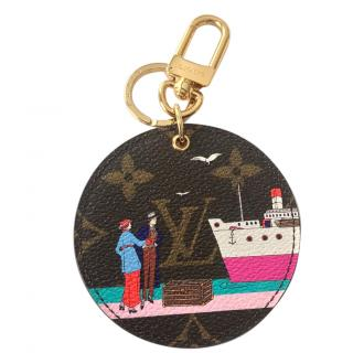 Louis Vuitton Limited edition transatlantic bag charm/key holder