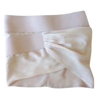 Acne Silk skirt