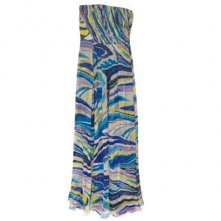 Emilio Pucci Silk Maxi Dress