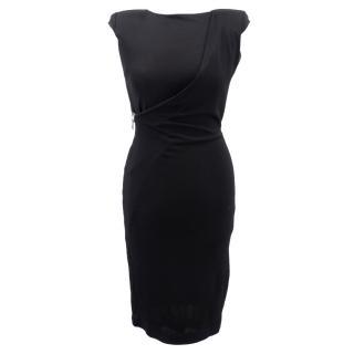 Tom Ford black open back dress