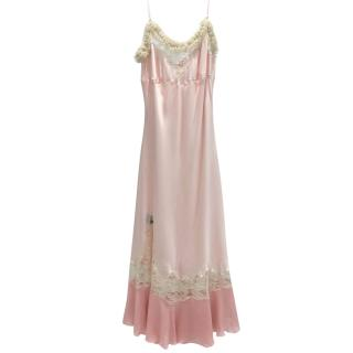 Ungaro Pink Silk Dress