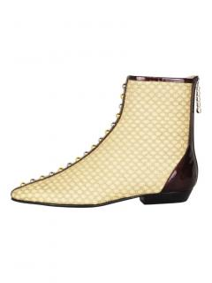 J.W. Anderson stud embellished ankle boots