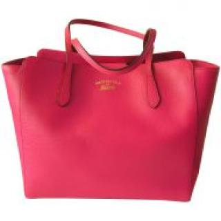 Gucci Swing Hot Pink Leather Tote